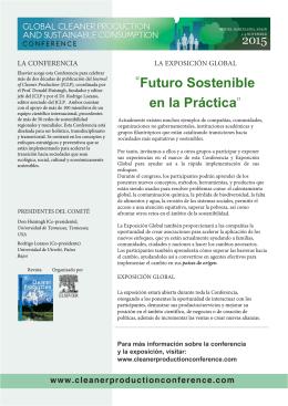 """""""Futuro Sostenible en la Práctica"""""""