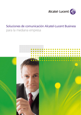 ALCATEL-LUCENT - BICS Folleto