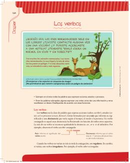 Los verbos - Editorial Estrada