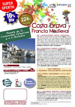 Costa Brava y