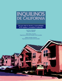 Spanish Cover - Housing Rights, Inc.