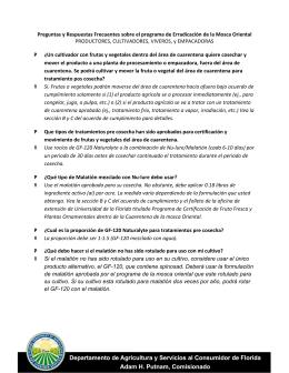 Preguntas y Respuestas Frecuentes sobre el programa de