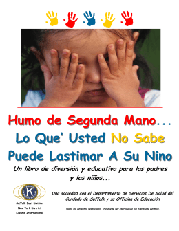 Kiwaanis Spanish workbook - The Kiwanis Club of Patchogue