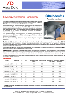 Folleto Boveda Chubb