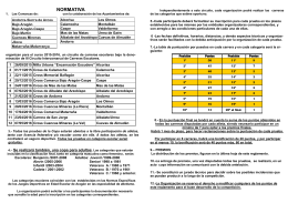 Folleto III Circuito Intercomarca Carrerras 2014-2015
