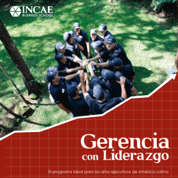 Folleto Gerencia con Liderazgo (REFERENCIA)
