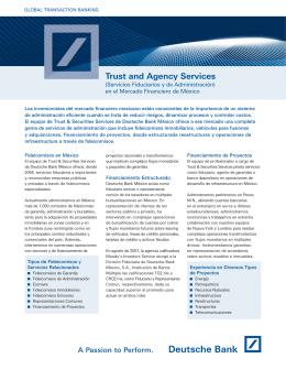 Servicios Fiduciarios y de Administración PDF