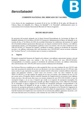 Descargar PDF - Banco de Sabadell