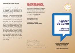 Cancer de Colon - Ibiza y Formentera contra el cáncer