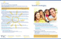 Cuentas FSA - Benefit Strategies
