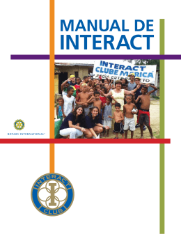 Manual de Interact - Rotary International
