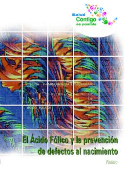 Ácido Fólico - Secretaría de Salud :: México