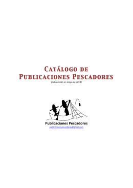 Catálogo de Publicaciones Pescadores