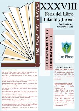 Folleto Feria del Libro 2015-2016