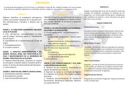 folleto informativo - Fundación Luz Casanova