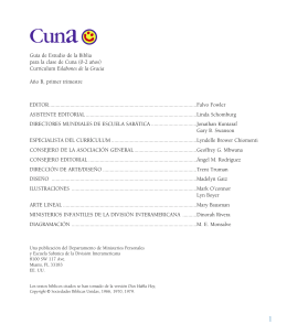 folleto alumno cuna