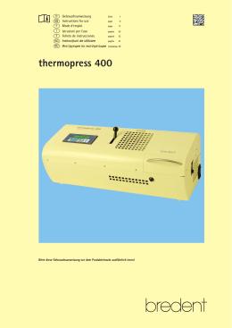 thermopress 400