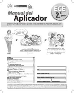 Manual del Aplicador ECE 2012