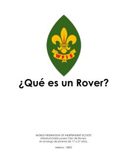 ¿Qué es un Rover?