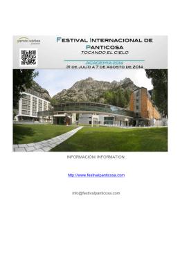 Descargar - Festival Internacional de Panticosa