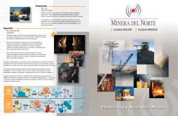 en minas de carbón con la comunidad