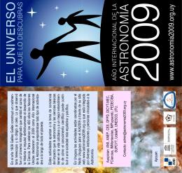 w w w.astronom ia2009.org.uy