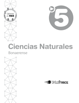 Ciencias naturales 5 - Saberes en red