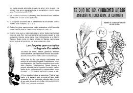 c. Folleto textos eucaristía - Parroquia La Inmaculada Concepción