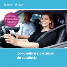 Todo sobre el permiso de conducir
