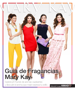 Guía de Fragancias Mary Kay