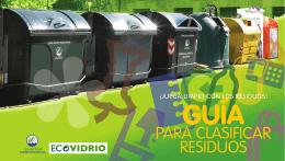 Guía para clasificar residuos