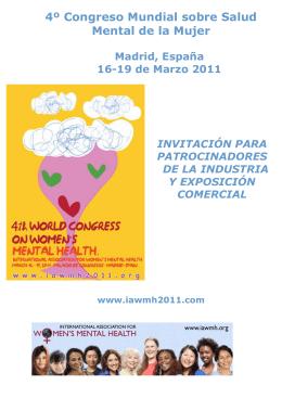 4º Congreso Mundial sobre Salud Mental de la Mujer