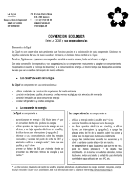 CONVENCION ECOLOGICA