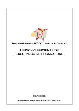 MEDICIÓN EFICIENTE DE RESULTADOS DE PROMOCIONES