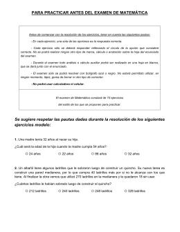 Matemática - Municipalidad de General Pueyrredón
