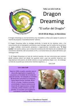 Dragon Dreaming - Barcelona en Transició