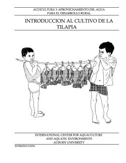 INTRODUCCION AL CULTIVO DE LA TILAPIA