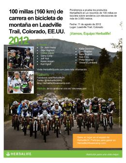100 millas (160 km) de carrera en bicicleta de montaña en Leadville