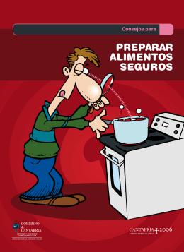 """Descargar el folleto """"Consejos para preparar alimentos seguros"""""""