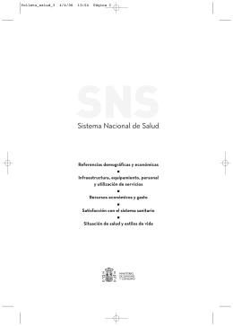 Año 2005 - Ministerio de Sanidad, Servicios Sociales e Igualdad