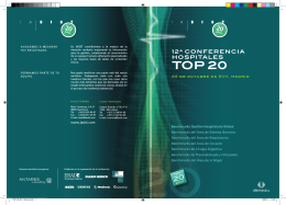 Folleto Conferencia TOP 20