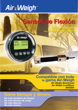 Folleto Sensor de Flexion - Air