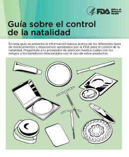 Guía sobre el control de la natalidad