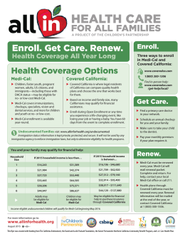 Enroll. Get Care. Renew.