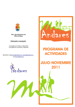 folleto andares julio-noviemb