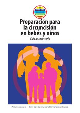 Preparación para la circuncisión en bebés y niños