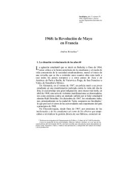 1968: la Revolución de Mayo en Francia