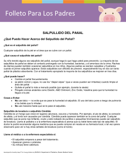 Folleto Para Los Padres - Advocate Children`s Hospital