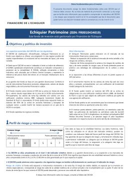 Echiquier Patrimoine (ISIN: FR0010434019)
