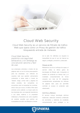 Cloud Web Security